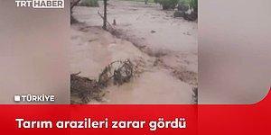 Yozgat'ta Sele Dönüşen Sağanak Yağış Kameralara Böyle Yansıdı