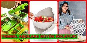 Tembel Aşçıların Kullanmadan Edemediği En İyi 21 Pratik Mutfak Ürünü