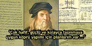Leonardo da Vinci'nin Hayatını Değiştiren, 539 Yıl Önce Yazdığı İş Başvuru Mektubu