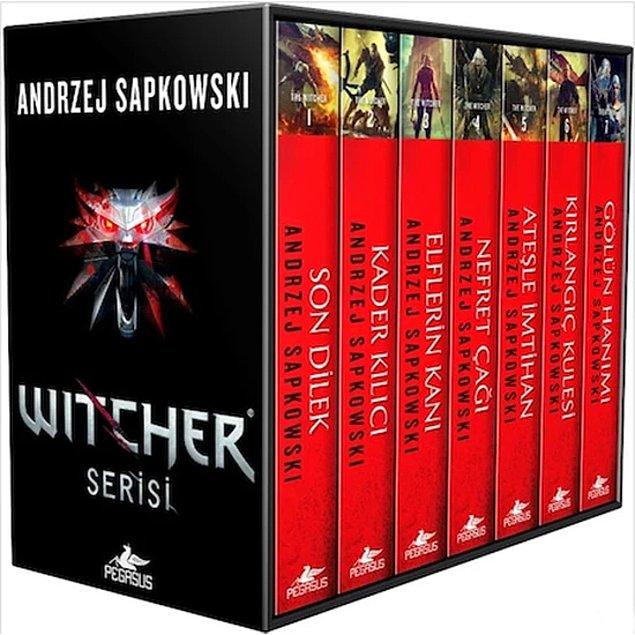 4. Witcher -  Andrzej Sapkowski