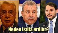 Türk Siyasi Tarihine İstifalarıyla Damga Vurmuş Bakanlar
