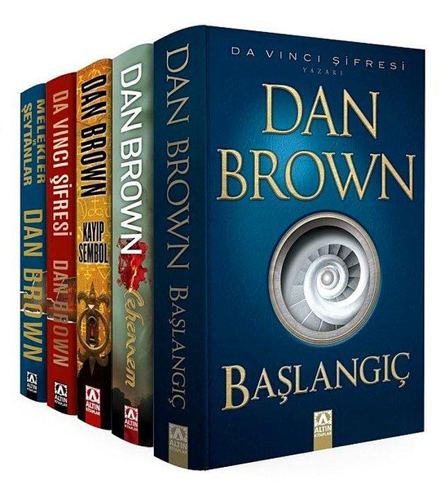 16. Robert Langdon - Dan Brown