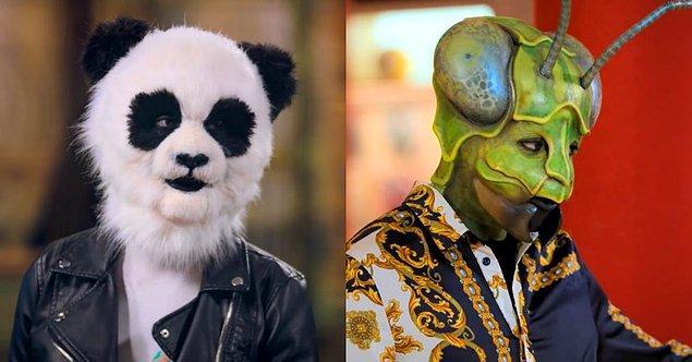 Netflix'in yayınladığı ilk fragmanda çok çeşitli hayvan kostümleri görüyoruz: Pandadan tutun çekirgeye...