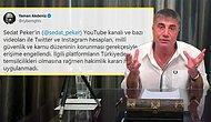 Sedat Peker'in YouTube Kanalı ve Sosyal Medya Hesaplarına Erişim Engeli!