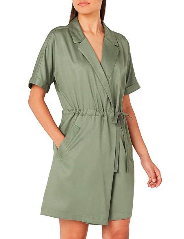 10. Vero Modanın elbise görünümlü tulumu da epey kullanışlı duruyor.