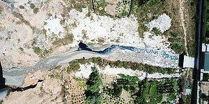 İstanbul'da Şamlar Gölü'ne Akan Dere Kimyasala Bulandı: Ölen Köpek ve Koyunların Sudan İçtiği Düşünülüyor...