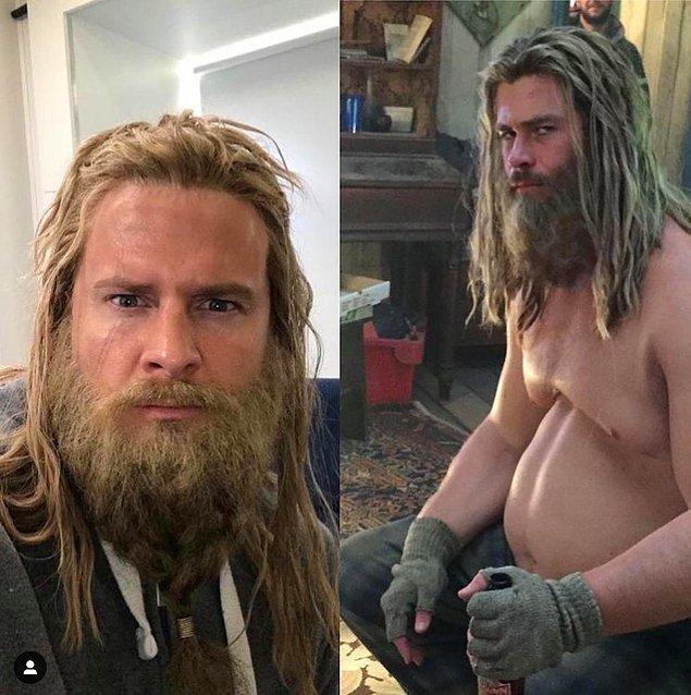 2. Chris Hemsworth'ün dublörü: Bobby Holland Hanton