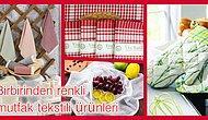 Mutfaklara Renk Katacak Mutfak Tekstiline Dair En Sevilen 12 Ürün