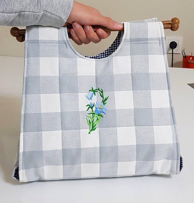 12. Borcam ve tencereler için taşıma çantası...