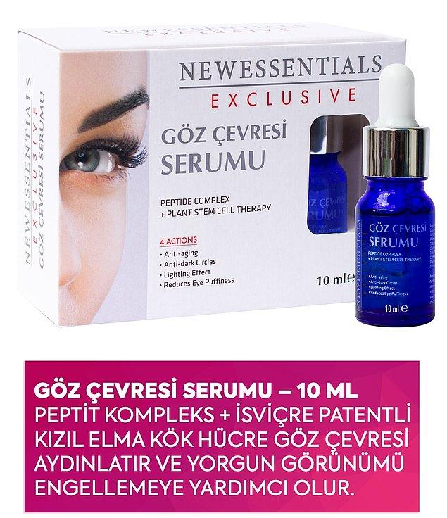 6. New Essentials göz çevresi serumu