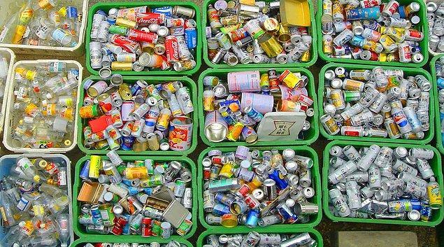 8. Çöpleri ayrıştırın.