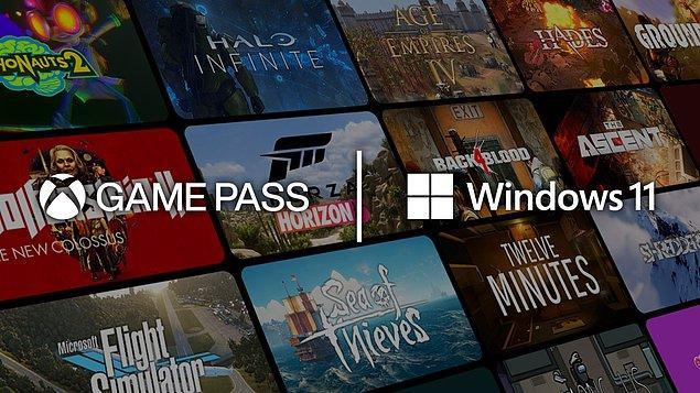 Oyuncuları memnun edecek bir diğer yeni özellik; Game Pass oyunları ve uygulamaları, oyun performansını çok daha iyi hale getirmek için direkt olarak işletim sistemine entegre edildi.