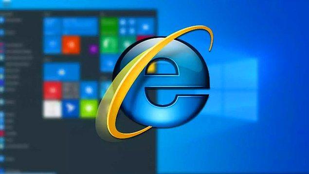Windows 11 ile beraber bazı özellikler ve uygulamalar tarihe karışıyor. Bunların başında Internet Explorer geliyor. İnternet geyiklerine çokça konu olan efsane, artık yeni sürümle birlikte tarihe karışacak. Seni çok özleyeceğiz Explorer desek yalan söylemiş oluruz...