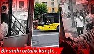 İstanbul'da Halk Otobüsünde 'Kart Basma' Gerginliği
