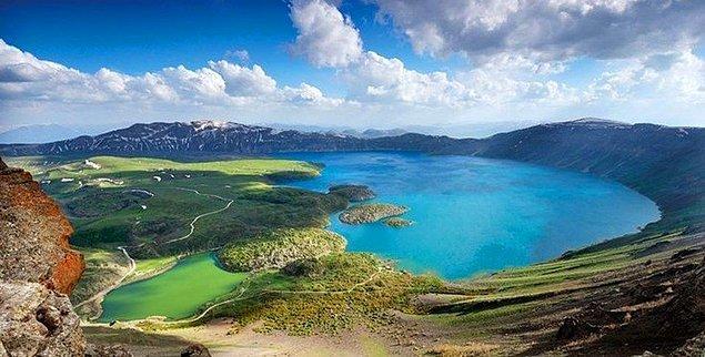 5. Nemrut Krater Gölü, Bitlis