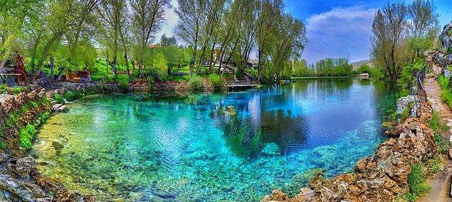 6. Gökpınar Gölü, Sivas