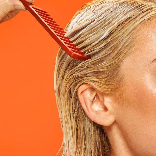 9. Saç maskesi ile saçlarınızın ihtiyacı olan nemi geri kazanın.