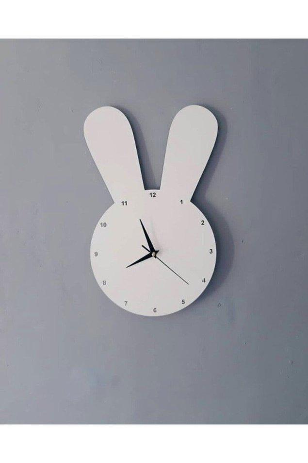 7. Ders çalışma rutinlerini ayarlayabilecekleri dekoratif bir saat edinin!