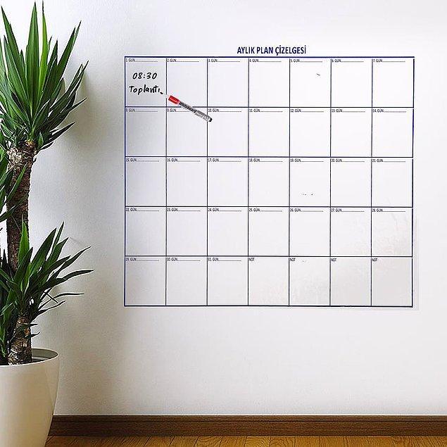 8. Düzenli bir çalışma alışkanlığı kazanmaları için planlayıcı kullanmalarını sağlayın.