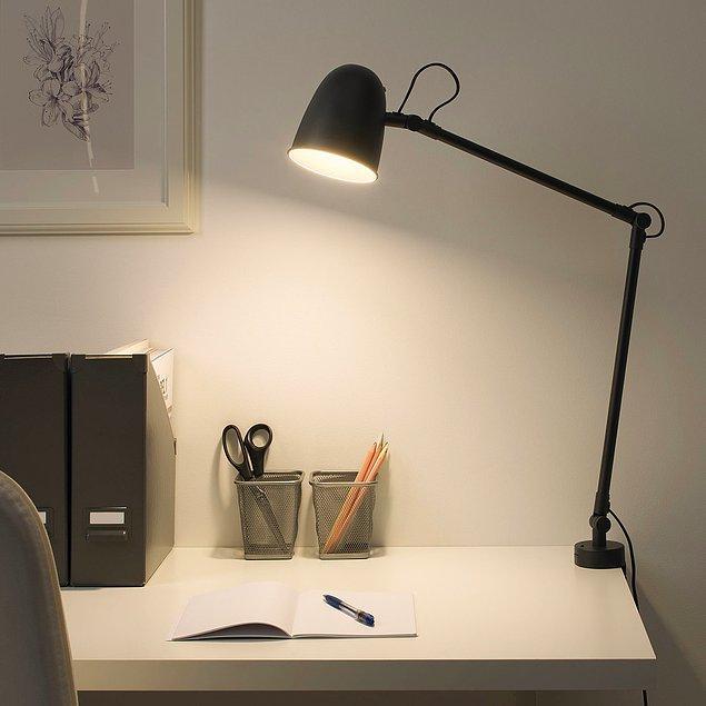 3. Odaklanmanın verimini arttırmak için çalışma masası ışığına dikkat!