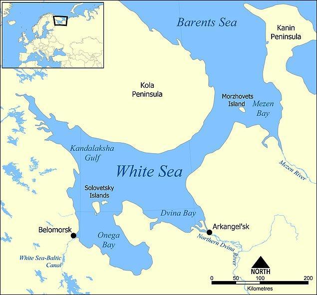 7. Beyazdeniz-Baltık Kanalı