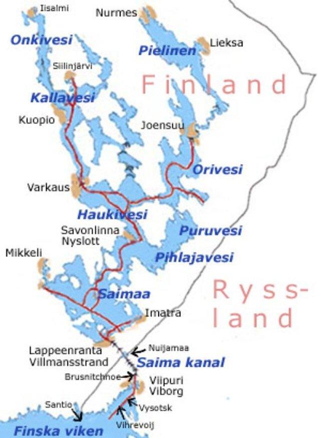 8. Saimaa Kanalı