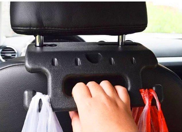 11. İster hırkanızı asın ister çocuğunuzun çantasını ister marketten aldıklarınızı...