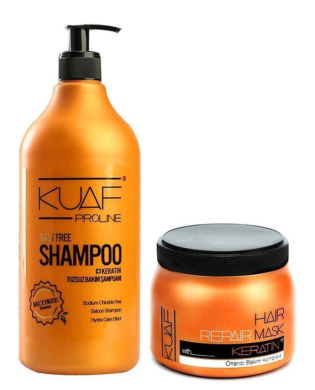 10. Tuzsuz şampuan denilince akla Kuaf tuzsuz şampuan geliyor.