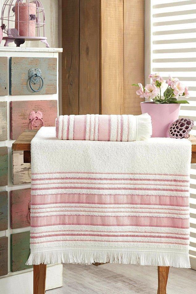 11. Havlu denilince ilk aradığımız banyo havlusu oluyor.