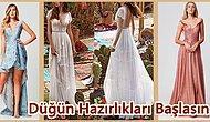 Güzelliğiyle Gelinin Kız Kardeşini Bile Kıskançlık Krizine Sokacak En Güzel Nedime Elbiseleri
