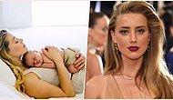 Johnny Depp ile Sansasyonlu Boşanma Davası Devam Eden Amber Heard Taşıyıcı Anne Yöntemi ile Bebek Sahibi Oldu!
