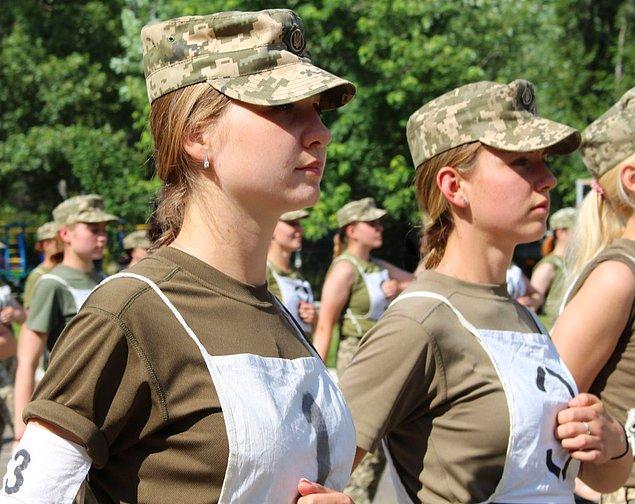 31 bin kadın asker bulunuyor