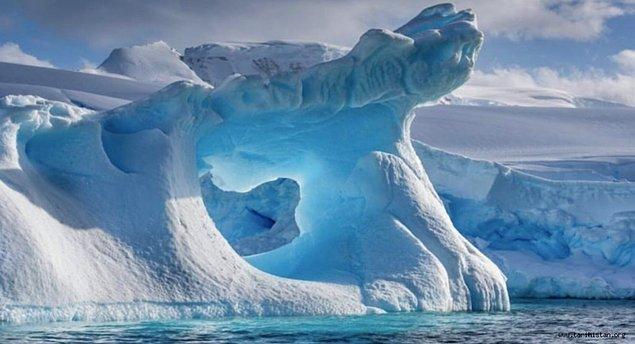 31. Antartika'nın sadece %1'lik kısmında buz bulunmamaktadır.