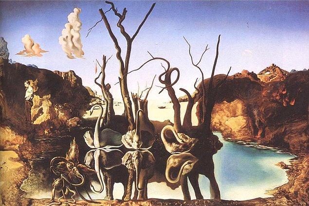 """""""Sürrealizm yıkıcıdır, ama yalnızca vizyonumuza sınırlar koyan prangaları yok eder."""""""