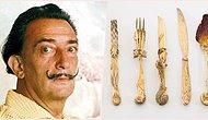 Sürrealizm'in En Önemli Simgesi Olarak Anılan Salvador Dalí'nin Tasarladığı İhtişamlı Çatal Bıçak Seti