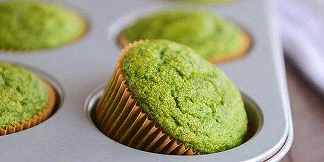 7. Ispanaklı Muffin Tarifi: