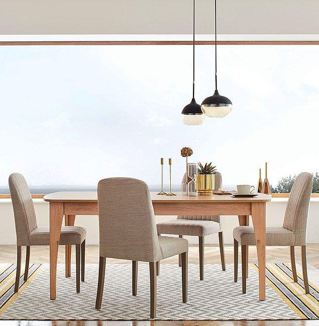 1. Enza Home yemek masası