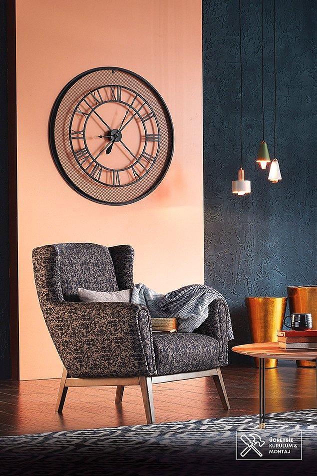 6. Enza Home koltuklarının tasarımı zaten harika ama keten kumaşlı bu berjerin ayrı bir güzelliği var.