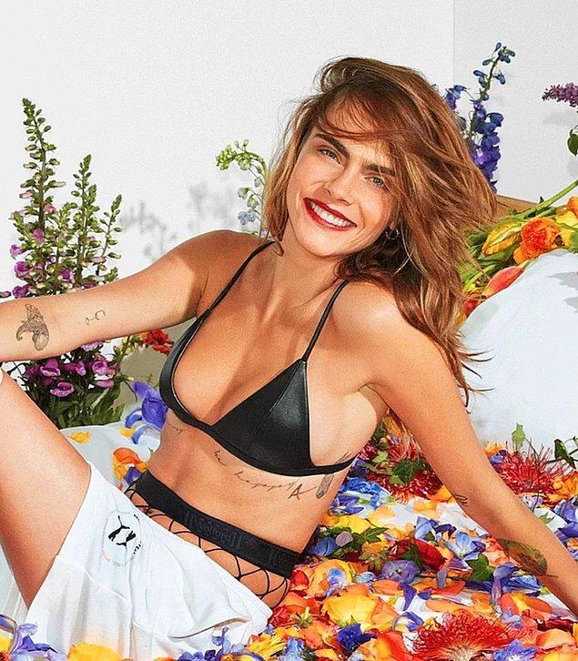 3. Dünyaca ünlü model Cara Delevinge seks oyuncaklarını denediğini ve bunun ne kadar havalı bir iş olduğunu açıkladı.