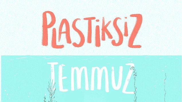 Türkiye'de bir ilk olan www.plastiksiztemmuz.org plastik kullanımını azaltmak için birbirinden güzel ve uygulaması kolay öneriler içeriyor.