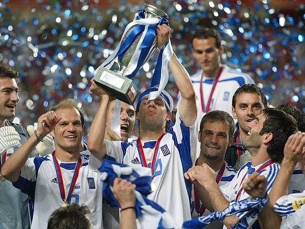 Yunanistan'ın Portekiz'i eleyip şampiyon olması (2004)