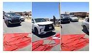 Libya'da Türk Bayrağını Yere Serip Araçlarla Üzerinden Geçtiler