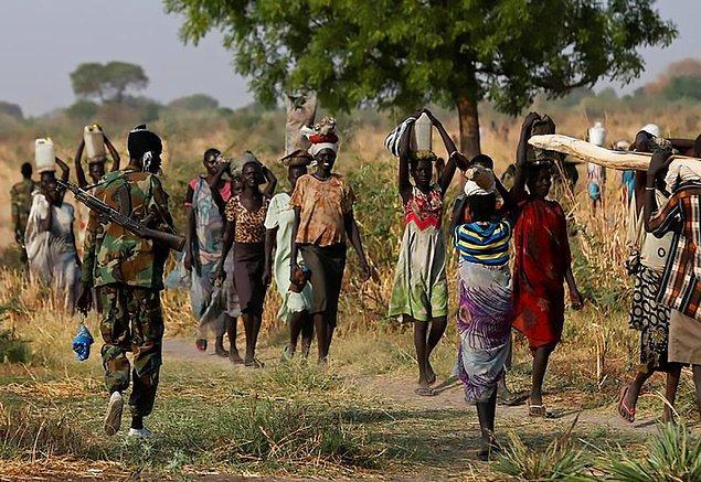 9. Güney Sudan