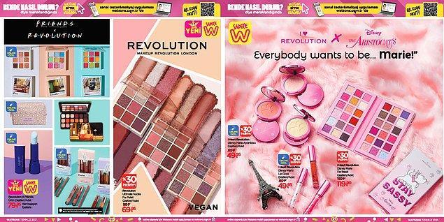 Revolution ürünleri;