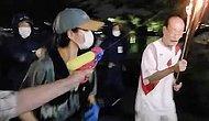 Japonya'da Olimpiyat Meşalesine Su Tabancalı Saldırı