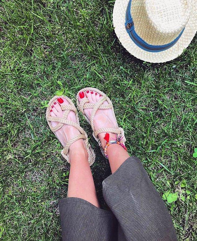 7. Son yılların 'özgür kız' sandaleti Nomadicler, bu yaz her ayak tipi için rahatlık vadediyor.