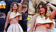 Herkesten Rol Çaldı! 74. Cannes Film Festivali'nde Bilinçli Olarak Frikik Veren Kadın Gündeme Bomba Gibi Düştü