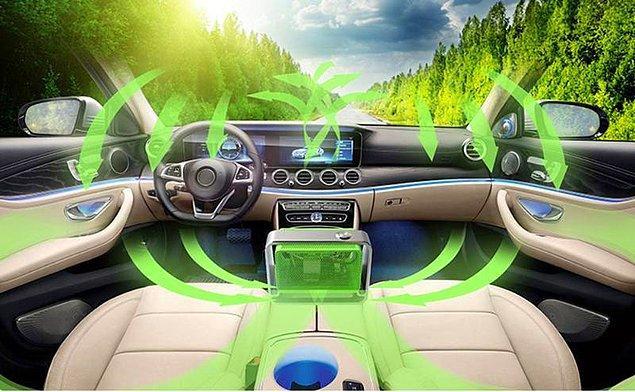 Araç temizliğinde de Ozon'dan sıkça faydalanılıyor!