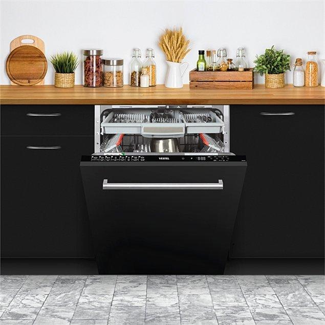8. En büyük yardımcınız olan Vestel bulaşık makinesi mutfağınızın ambiyansını derinden etkileyecek!