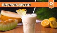 Sıcaklara Kesin Çözüm! Bol Buzlu Kavunlu Limonata Frozen Nasıl Yapılır?